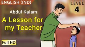 Abdul Kalam: A Lesson for my Teacher
