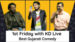 1st Friday with KD Live | Best Gujarati Comedy