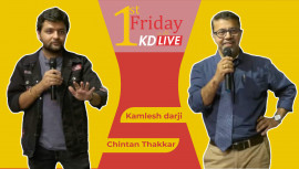 1st Friday KD Live with Chintan Thakkar - Talks
