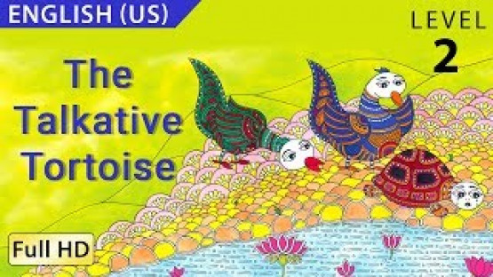 The Talkative Tortoise: Learn English - Story for Children