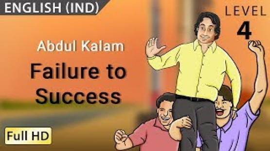 Abdul Kalam, Failure to Success: Learn English - Story for Children