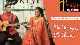 Musical Performance by Shubhang and Shubhangi - 1st Friday with KD