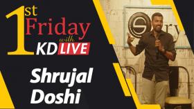 Comedy Act By KD & Shrujal Doshi | કમલેશ દરજી દ્વારા લાઇવ સ્ટેન્ડ-અપ | KD Live | Season 5