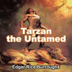 Tarzan the Untamed by EDGAR RICE BURROUGHS in English