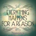 Everything happens for a reason by Bhavik Sarkhedi in English