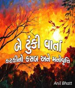 Be tunki varta by Anil Bhatt in Gujarati