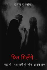 फिर मिलेंगे... कहानी - एक महामारी से लॉक डाउन तक by Sarvesh Saxena in Hindi