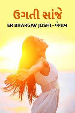 rising noon by Er Bhargav Joshi in Gujarati