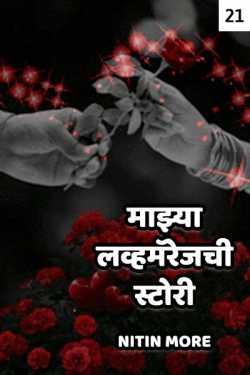 MAZYA LOVEMARRIAGECHI STORY - 21 by Nitin More in Marathi