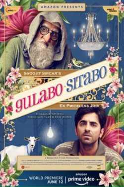 gulabo sitabo - movie review by Chirag Vithalani in Gujarati