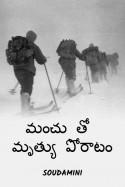 మంచు తో మృత్యు పోరాటం by Soudamini in Telugu