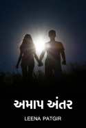 અમાપ અંતર by Leena Patgir in Gujarati