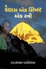 """""""કૈલાસ"""" એક શિખર,એક સ્ત્રી. by saurabh sangani in Gujarati"""