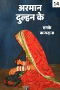 अरमान दुल्हन के - 14 by एमके कागदाना in Hindi