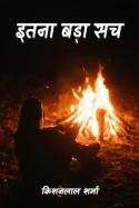 इतना बड़ा सच - (भाग 1) by किशनलाल शर्मा in Hindi