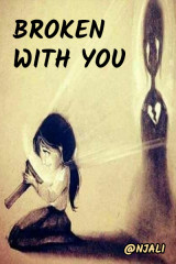 Broken with you... by @njali in Hindi
