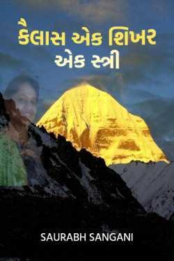 Kailash one women one peak - 2 by saurabh sangani in Gujarati
