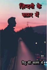 ज़िन्दगी के सफ़र में by Ritu in Hindi