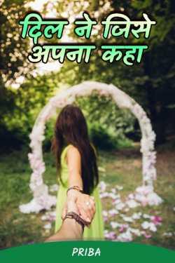 Dil ne jise apna kaha - 1 by PriBa in Hindi