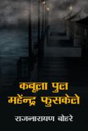 कबूला पुल महेंन्द्र फुसकेले by राजनारायण बोहरे in Hindi