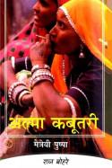 मैत्रैयी पुष्पा   अल्मा कबूतरी by राज बोहरे in Hindi