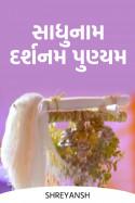 સાધુનામ દર્શનમ પુણ્યમ by shreyansh in Gujarati