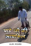 Alok Mishra द्वारा लिखित  पांडे जी की सायकिल (व्यंग्य कथा) बुक Hindi में प्रकाशित