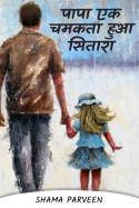 पापा एक चमकता हुआ सितारा by shama parveen in Hindi