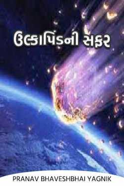 The journey of the meteorite by PRANAV BHAVESHBHAI YAGNIK in Gujarati