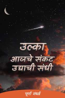Meteor - Today's crisis is tomorrow's opportunity by पूर्णा गंधर्व in Marathi