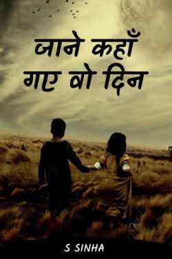 S Sinha द्वारा लिखित  जाने कहाँ गए वो दिन बुक Hindi में प्रकाशित