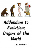 Addendum to Evolution: Origins of the World by BS Murthy in English