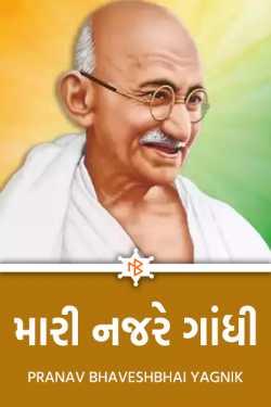 મારી નજરે   ગાંધી by PRANAV BHAVESHBHAI YAGNIK in Gujarati