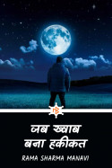जब ख्वाब बना हकीकत by Rama Sharma Manavi in Hindi