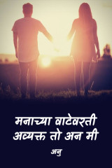 मनाच्या वाटेवरती... अव्यक्त तो अन मी... द्वारा अनु... in Marathi