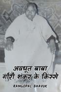 अवधूत बाबा गौरी शंकर के किस्से - 10 by ramgopal bhavuk in Hindi