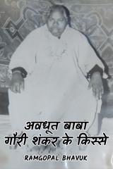अवधूत गौरी शंकर बाबा के किस्से द्वारा  ramgopal bhavuk in Hindi