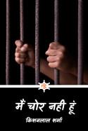 मैं चोर नही हूँ (अंतिम किश्त) by किशनलाल शर्मा in Hindi