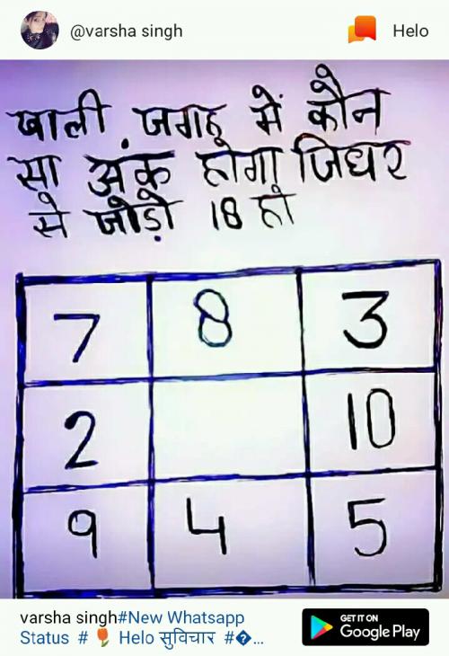 Post by Shakti Parmar on 25-May-2019 08:11am