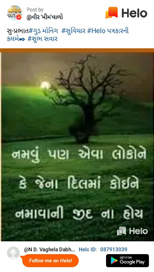 Gujarati Motivational by NareshVaghela : 111223149