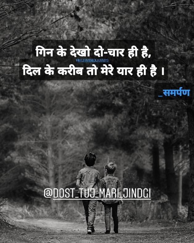 Hindi Shayri by Nikunj kukadiya samarpan : 111229312