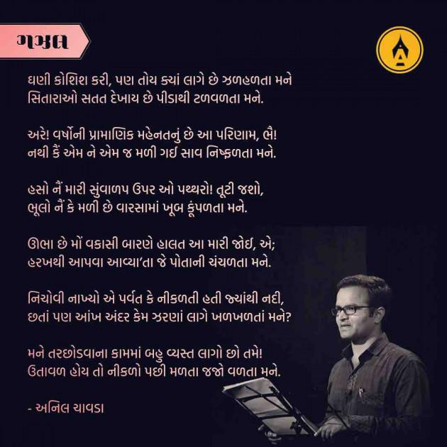 Hindi Poem by Anil Chavda : 111257695