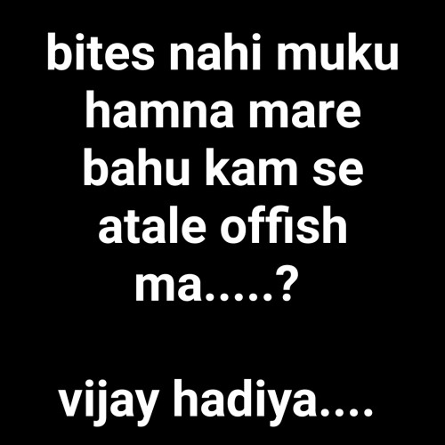 Post by Vijay Hadiya on 25-Nov-2019 10:47pm