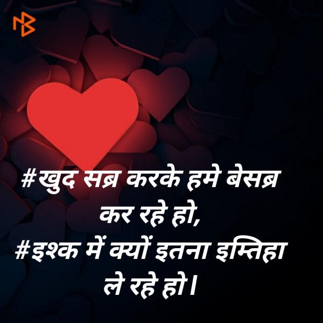 Hindi Blog by SMChauhan : 111307102