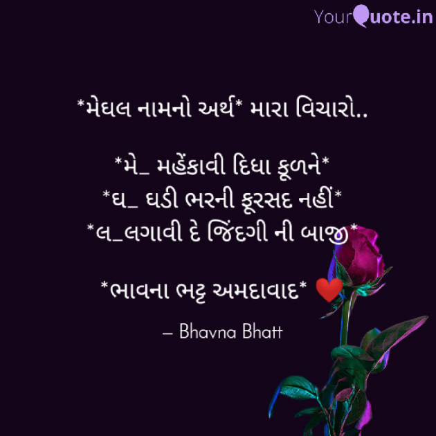 Gujarati Blog by Bhavna Bhatt : 111325177