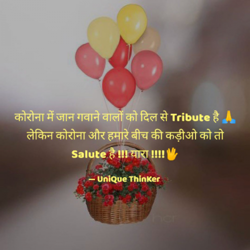 Post by UniQue ThinKer on 07-May-2020 11:45am