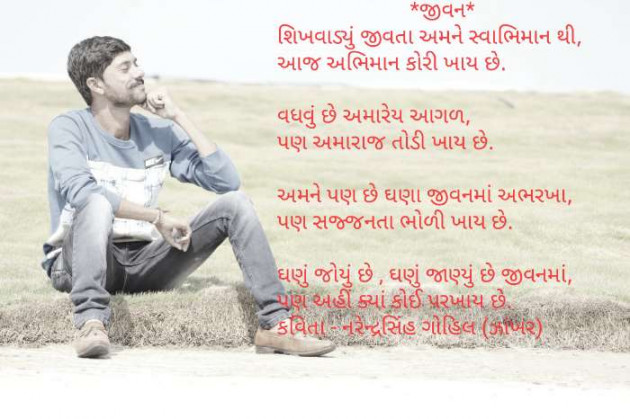 Hindi Poem by Gohil Narendrasinh : 111492745
