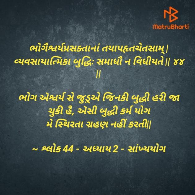 Gujarati Thought by Meet suvagiya : 111524857