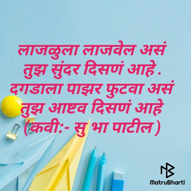 Marathi Poem by शिवव्याख्याते सुहास पाटील : 111531383