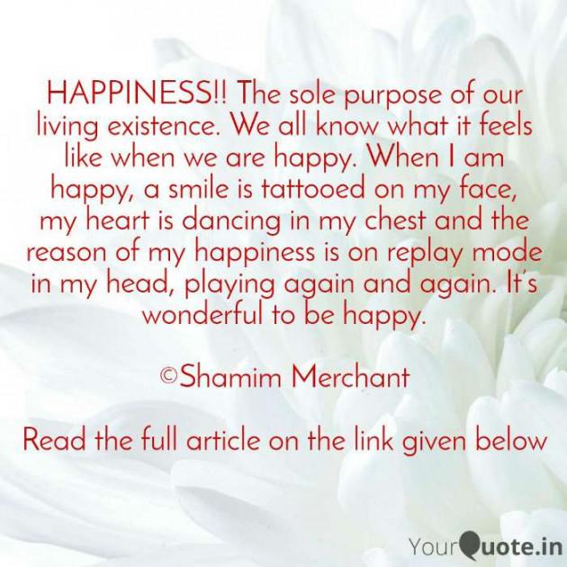 English Motivational by SHAMIM MERCHANT : 111580671